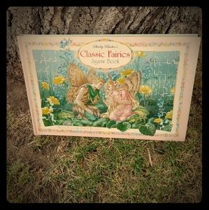 Classic fairy jigsaw puzzle book